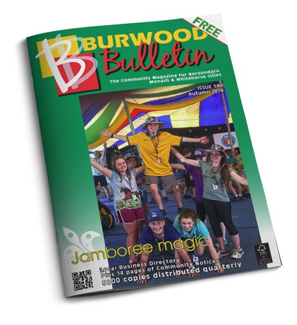 Burwood Bulletin Issue #140 cover