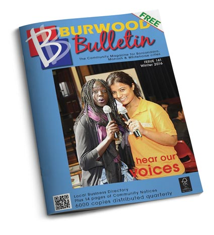 Burwood Bulletin Issue #141, Winter 2016