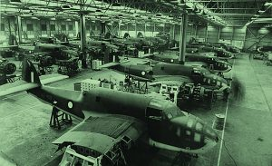 Beaufort bomber assembly line