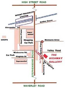 The Highway Gallery Map