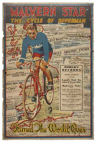Opperman UK event poster 1934