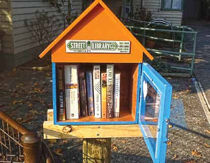 The Street Library at Koonung Cottage