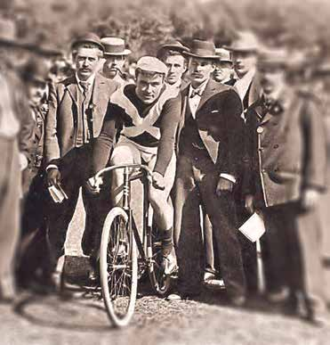 Tom Finnigan 1898 Austral Wheel Race winner.