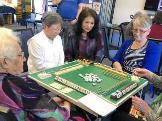 Game of mahjong at U3A Hawthorn